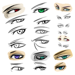 Lots O' Eyes by DeviantTear