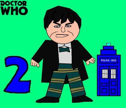 Doctor Who Minis - Second Doctor by ESPIOARTWORK-102