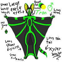 Tron full body by XylerTheWolf