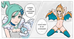 Serena disarmed by altaria's voice by Elinyah