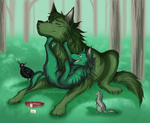 DQ: Peace in the Forests by The-Nutkase