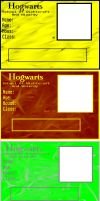 ID-card for Hogwarts by Roxshard