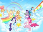 My Little Care Bear: Caring is Sharing by ThisCrispyKat