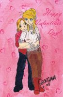 Happy Valentines Day, Ed+Winry by Edward-x-Elric