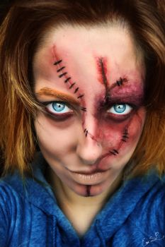 Chucky Halloween MakeUp by Chuchy5