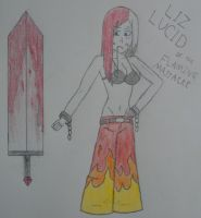 Liz Lucid or the Flaming Massacre by jetray103