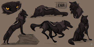 Kaisa sketches by Azeare