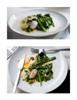 Seared Scallions - Poached Egg by sALuUm