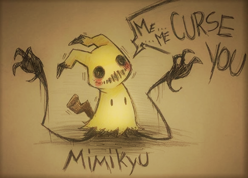 Mimikyu ..again by BrokenDoll777