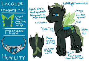 RefSheet: Lacquer by SpatialHeather