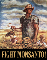 Fight Monsanto! by poasterchild