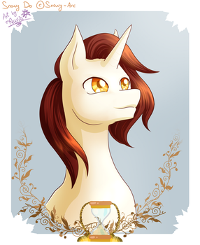 Snowy Do Bust [Commission] by Auriaslayer