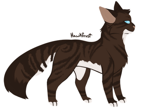 [100 WARRIOR CATS CHALLENGE] #28 - Hawkfrost by toboe5tails