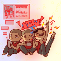Pacific Rim - triplets by Cheshire-no-Neko