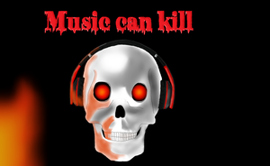 Music can kill by Emiliewolf