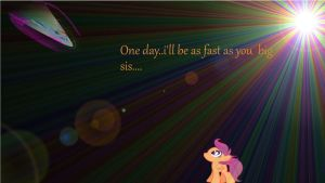 one day scootaloo... by DnAx-Fluttershy