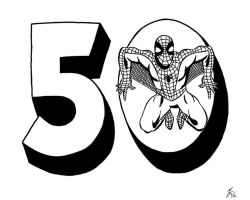 Spider-man's 50th Anniversary III by zombiegoon