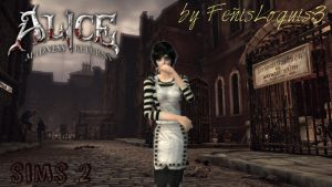 Alice Madness Returns- Alice London- Sims 2 by AliceLiddell34