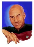 The humanist (Jean-Luc Picard - Star Trek TNG) by Dahkur