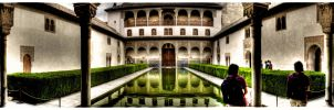 inside of the Alhambra 2 HDR by EMCEJ