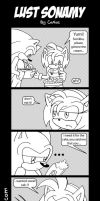 Lust SonAmy Strip by cArDoNaNaVaS