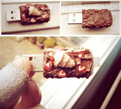 Ice cream USB by EliseEnchanted