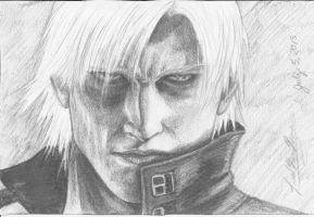 Dante - Devil May Cry 2 by SaiyukiMarie39