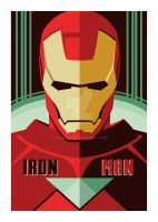 Iron man vector by Luckino