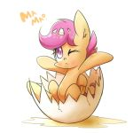 chicken scootaloo by joycall3