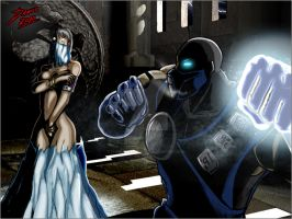 Sub-zero humiliation 5 by TheInsaneDarkOne