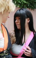 NaruHina - Don't stare at me by Wings-chan