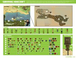 Information Graphics: Minecraft Map by emengel