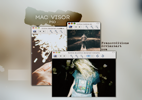 Visor Mac // PSD by FranceEditions