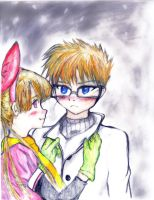 Dexter and Blossom by Hairebunny2