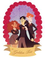 the golden trio by mayakern