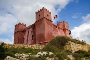 Red tower by Sockrattes
