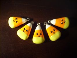 Candy Corn Charms by Kizui