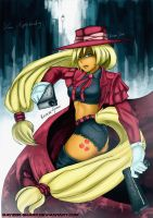 Applejack of Hellsing by Rayzoir