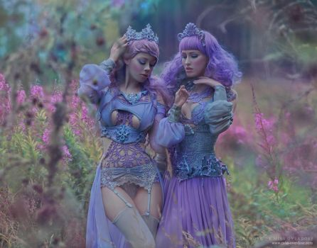 Lavender Lovers by Ophelia-Overdose