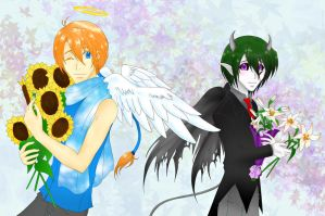 Flowers For You by Seething-Repentance