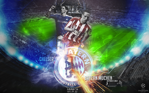 Champions League Final - Chelsea vs Bayern by briorey