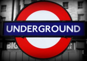 London Underground by Wekuster