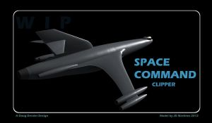 Space Command Clipper WIP by dragonpyper