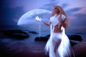Moon Flower by OhLizz