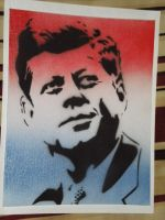 Kennedy Stencil full by NerdCraft