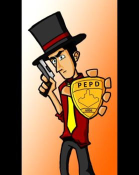 Detective Dipi Coloured by dp6