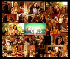 2 broke girls 1x01 by kaatje1903