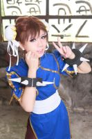 Street fighter Chun Li Cosplay (1) by multipack223