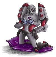 Stupid sexy Megatron by oo0shed0oo