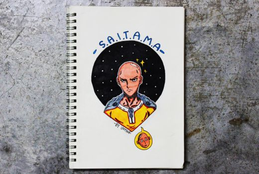 One Punch Man : Saitama by deanyyah